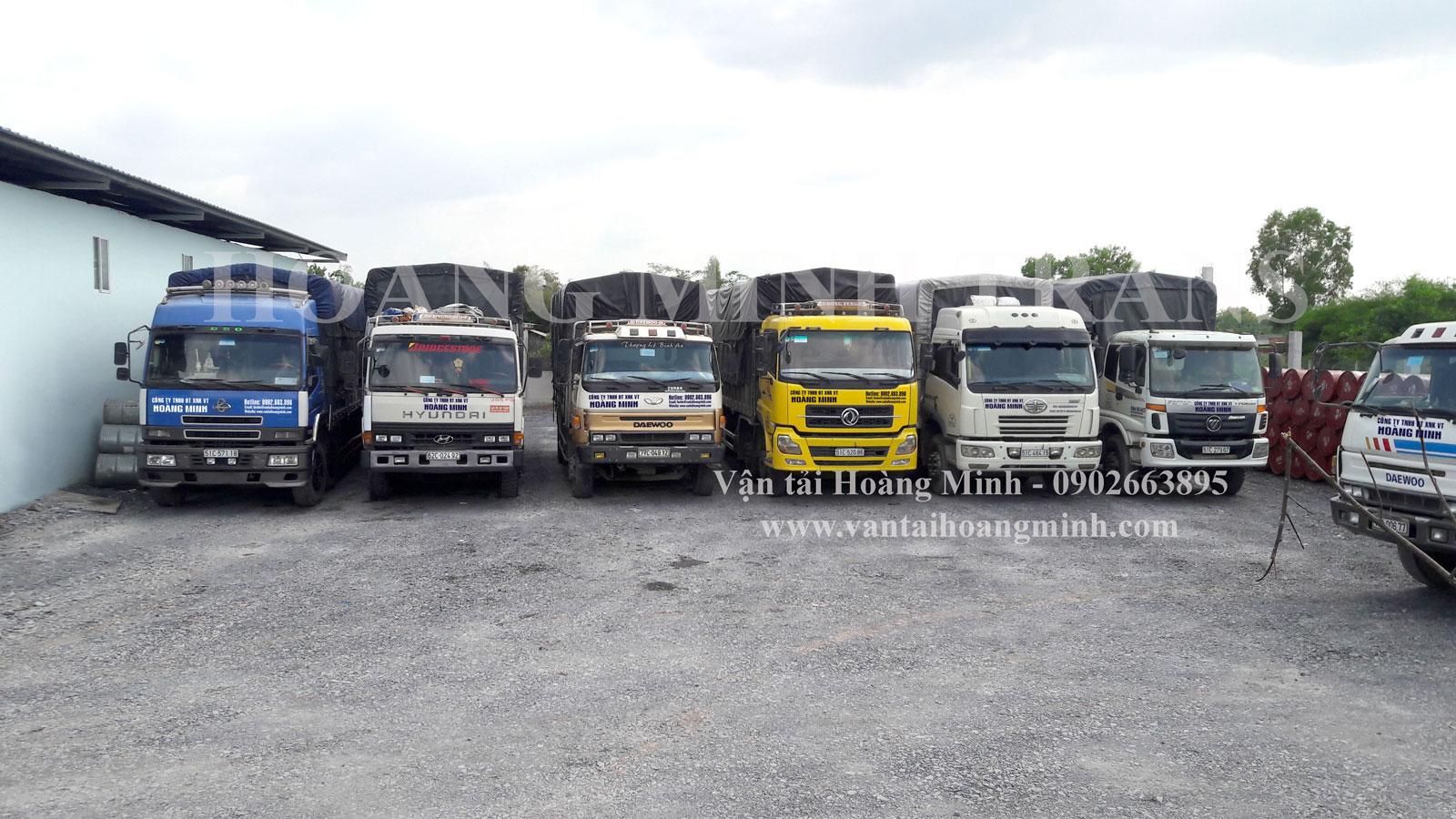 Cho thuê xe chở hàng từ 1 đến 34 tấn
