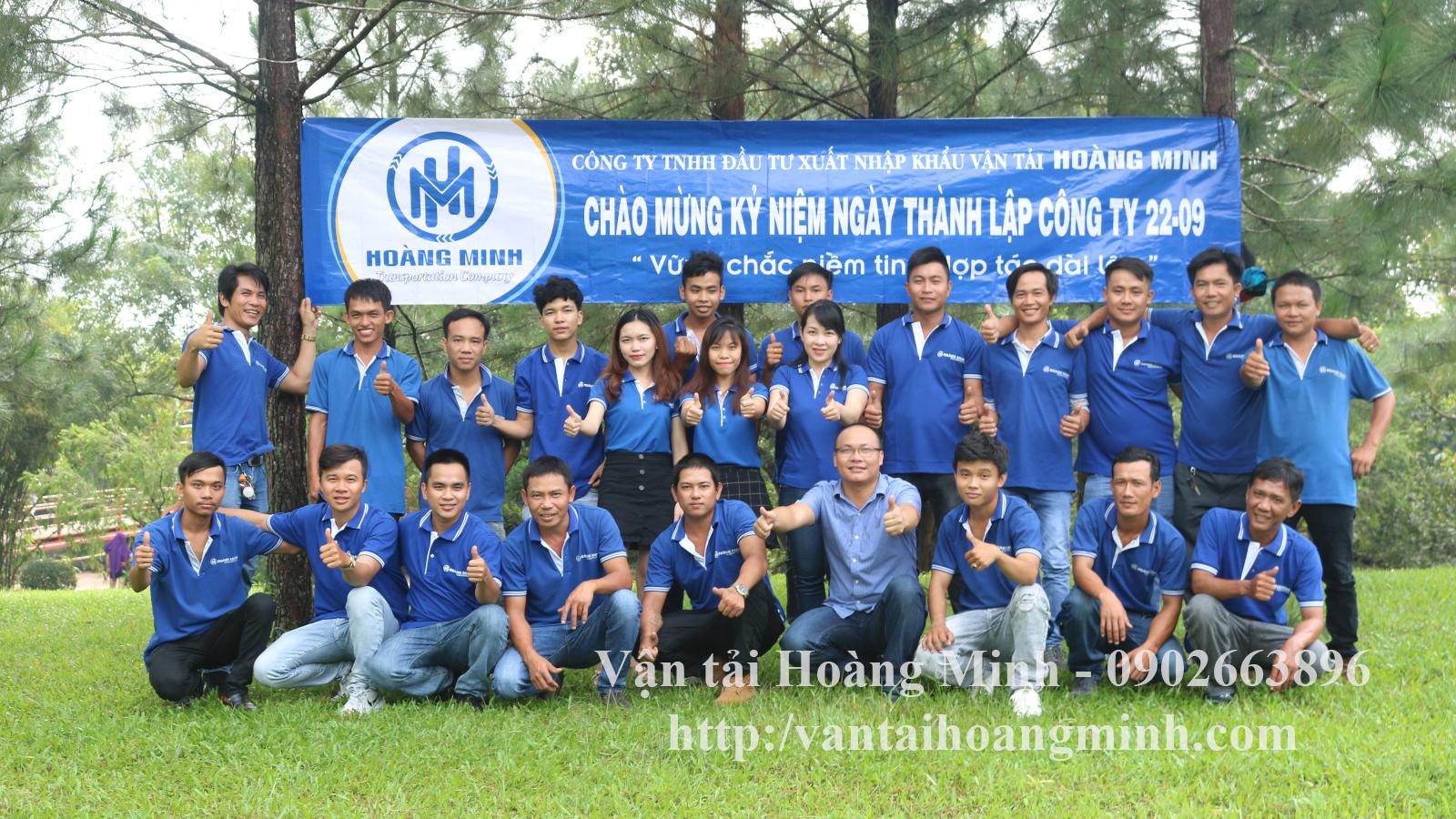 TVC Giới thiệu Vận tải Hoàng Minh