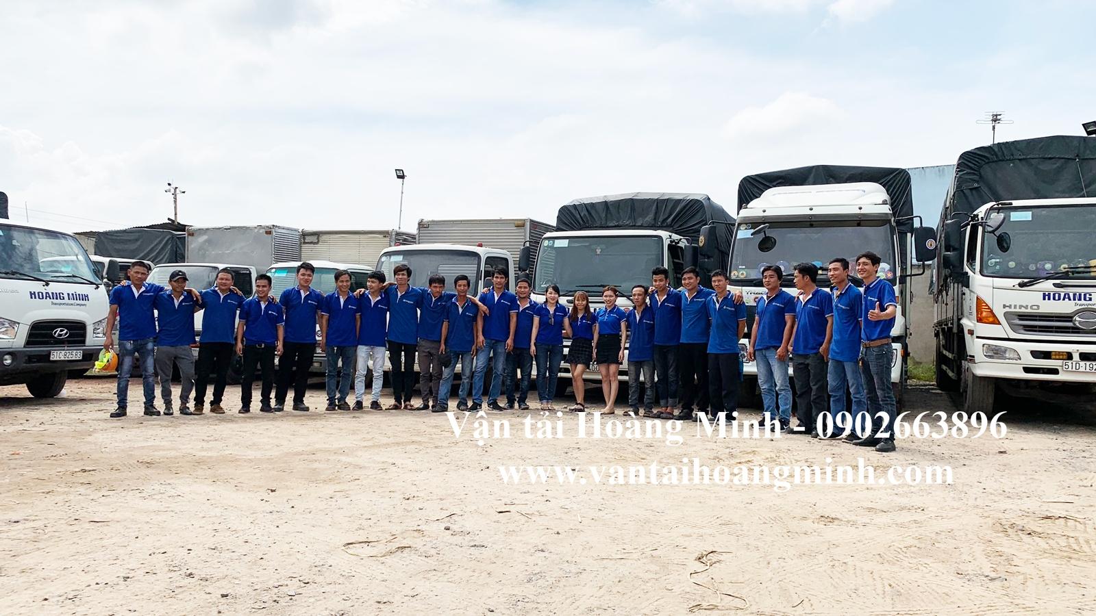 Đơn vị vận tải Hoàng Minh