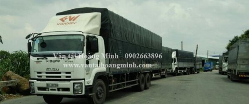 Xe tải chở hàng khu công nghiệp Visip 1