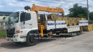 xe cẩu chở hàng huyện Tân Thạnh