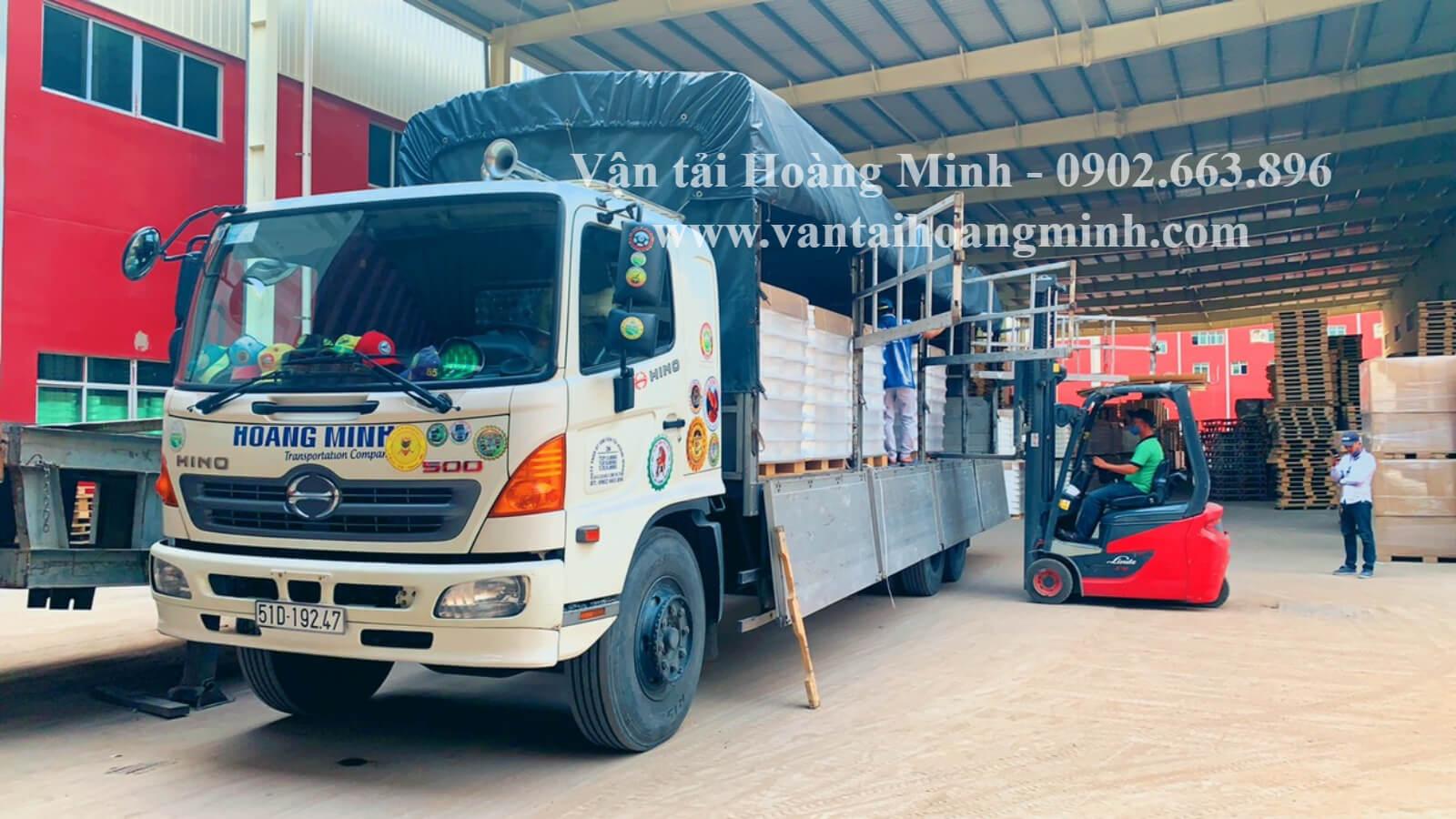 xe tải chở hàng long an uy tín