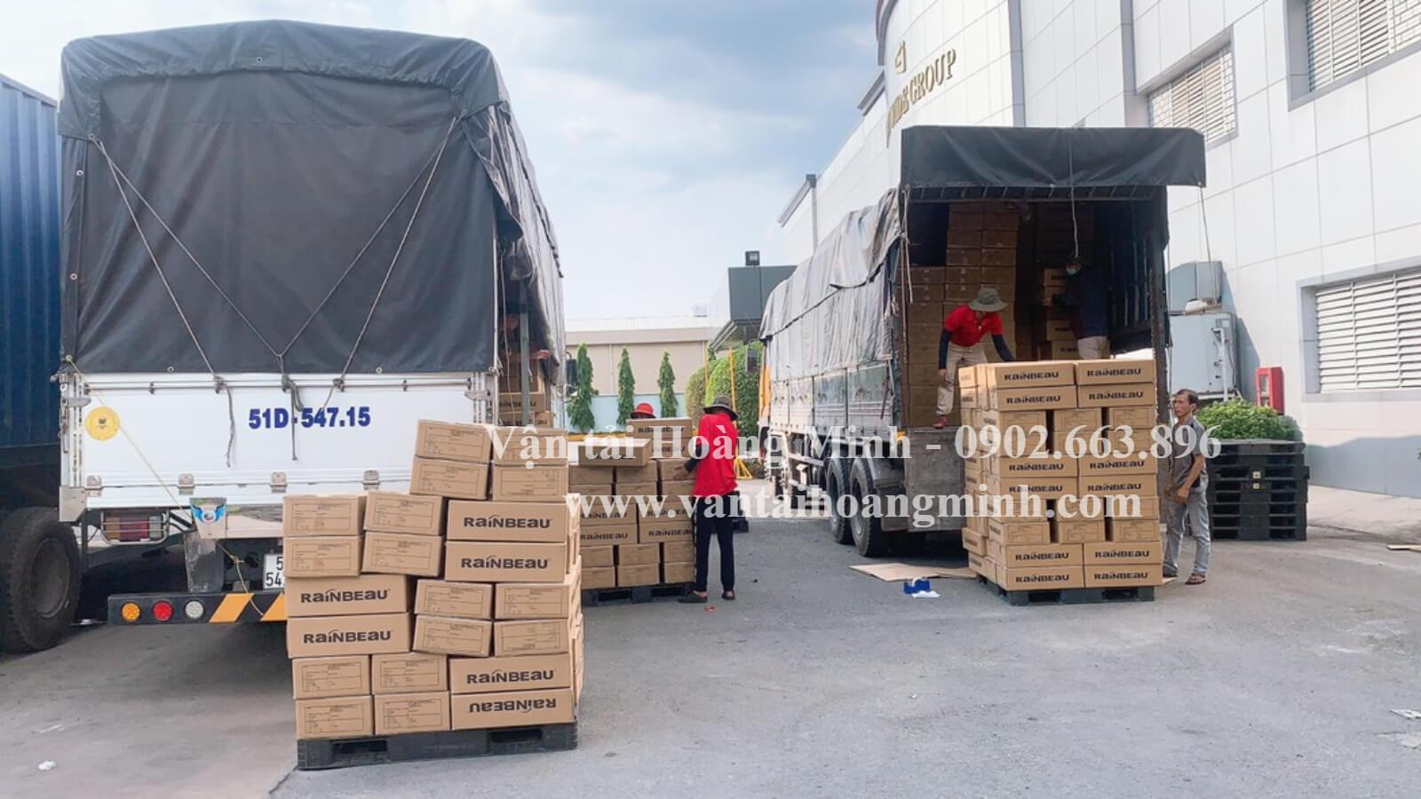 xe tải vận chuyển hàng hoá quận 1