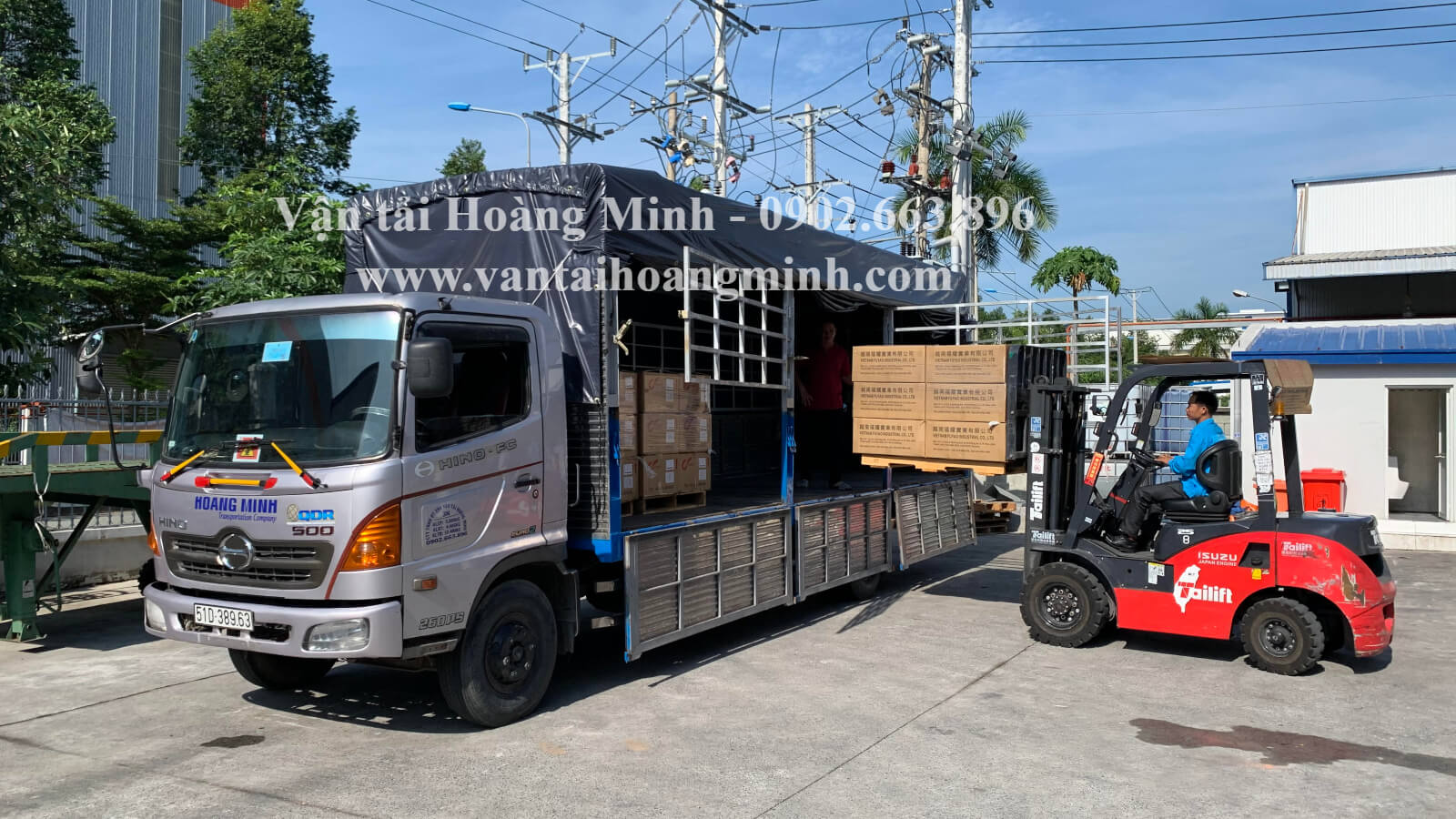 thuê xe tải chở hàng đi tỉnh giá tốt