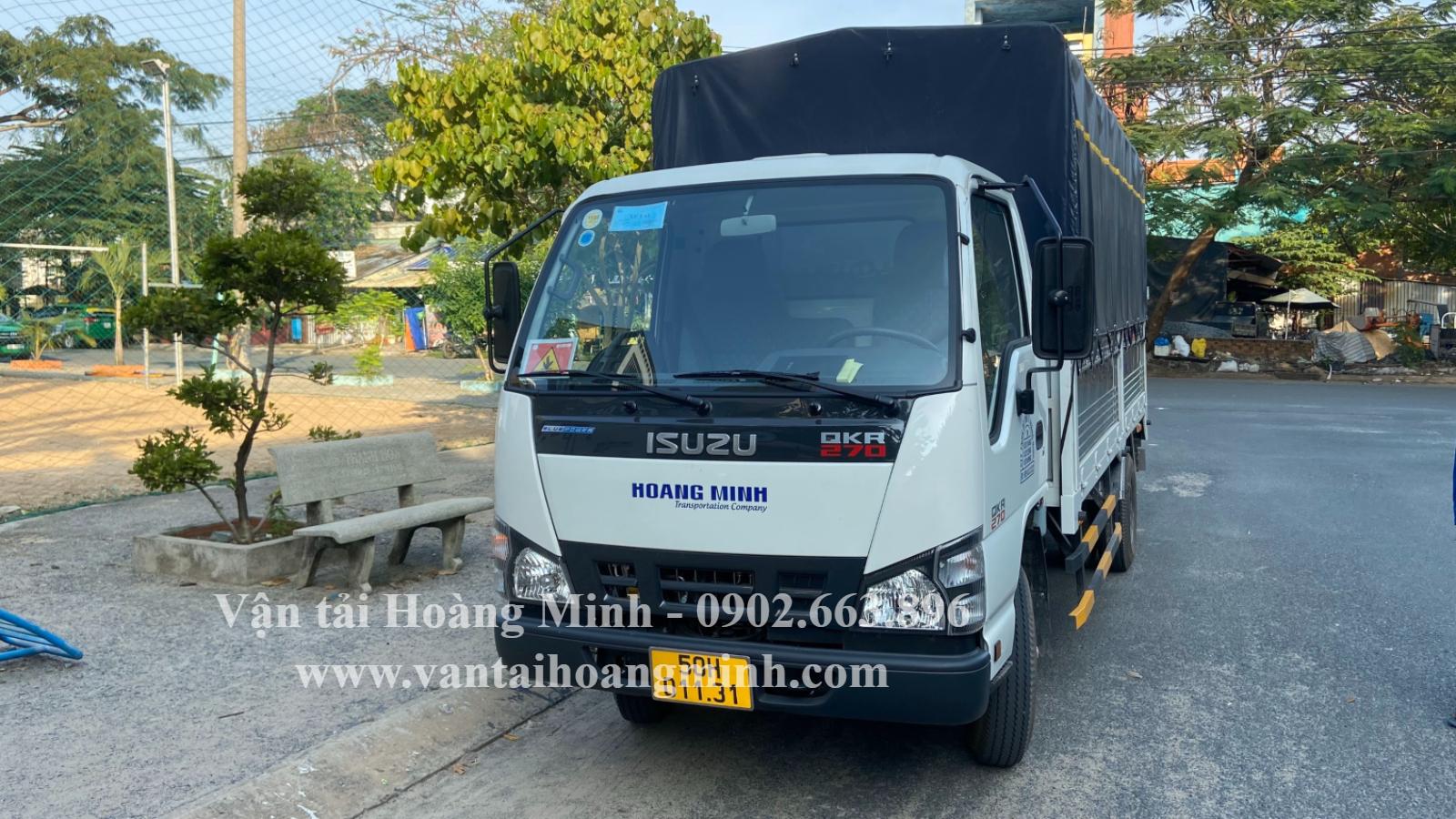 thuê xe tải chở hàng 2 tấn