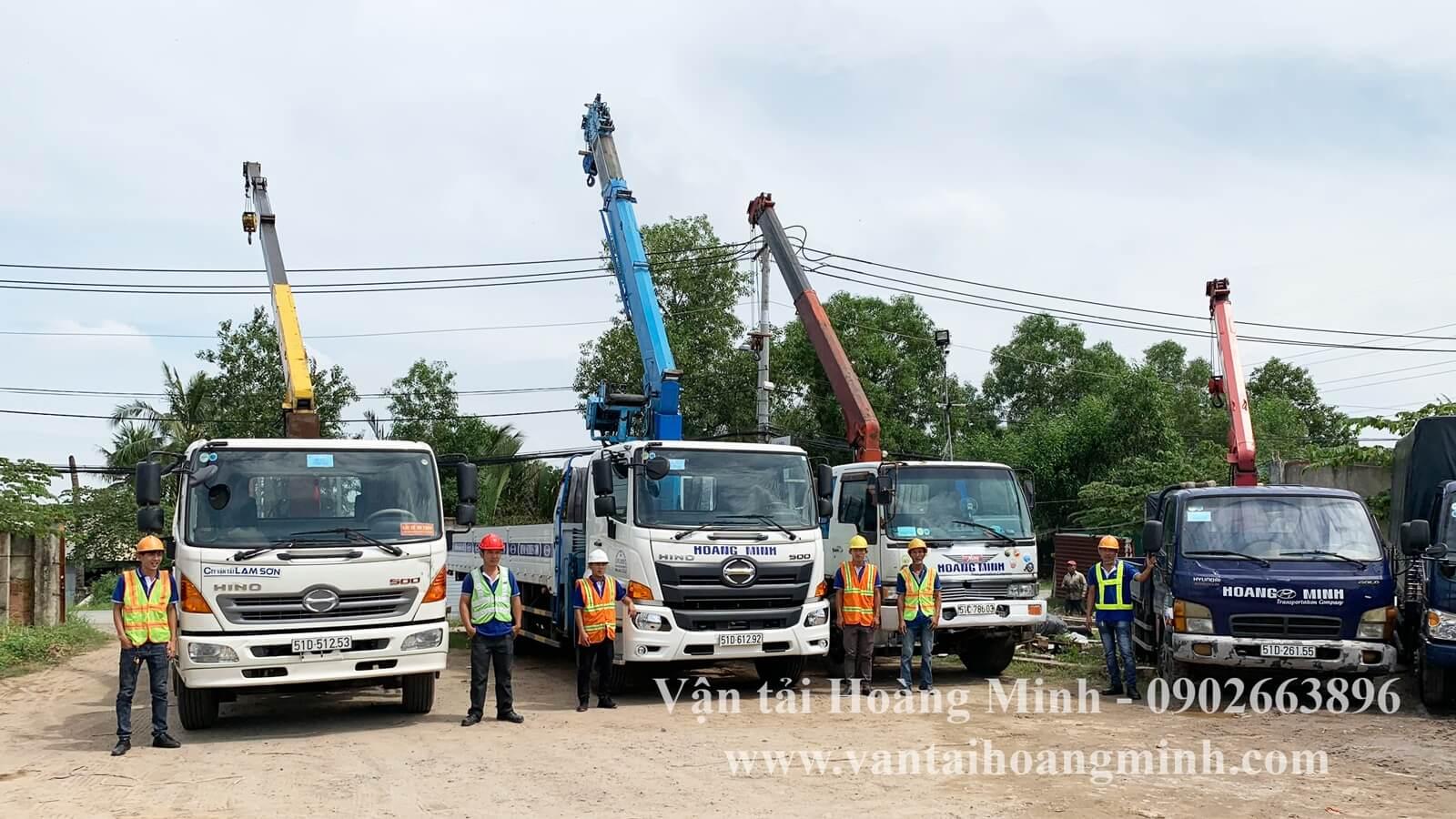 dịch vụ xe cẩu tại tphcm