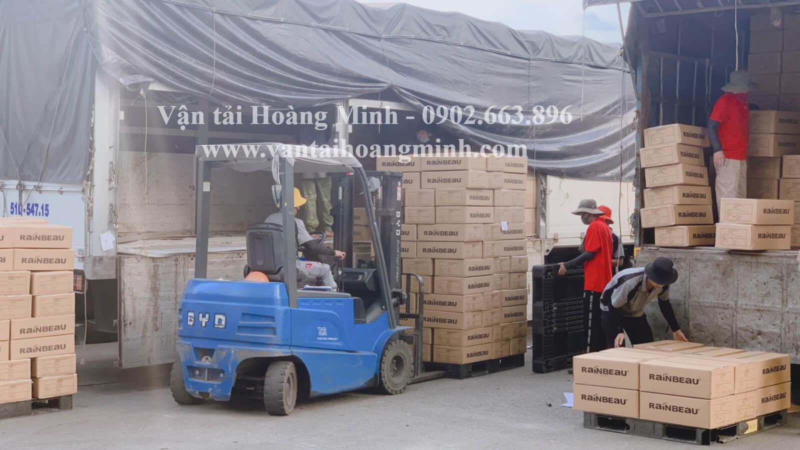 vận chuyển hàng hoá đi nha trang