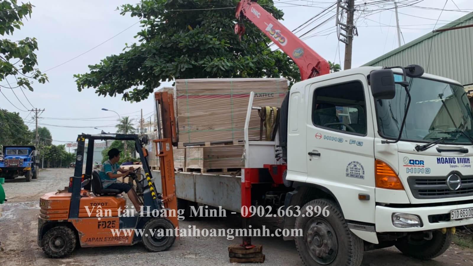 thùng xe tải cẩu - thùng lửng