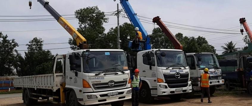 Dịch vụ xe cẩu giá rẻ tại TPHCM