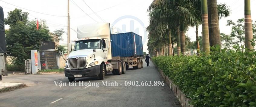 Cho thuê xe đầu kéo container chở hàng hoá