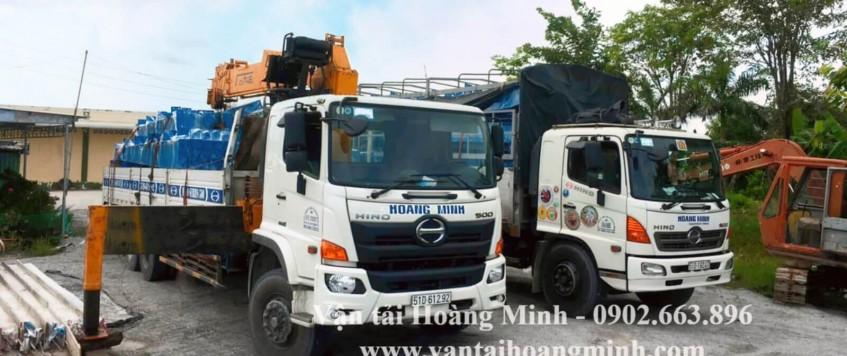 Vận chuyển hàng hoá công trình – máy móc thiết bị