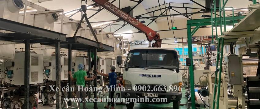 Vận chuyển máy móc thiết bị công nghiệp
