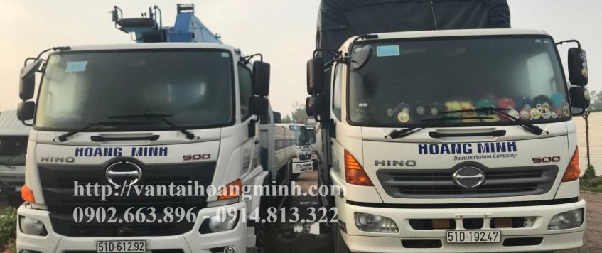 Dịch vụ xe tải chở hàng TPHCM