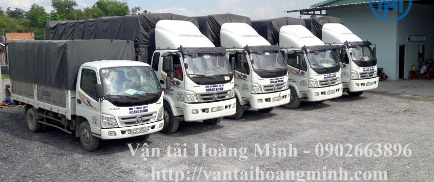 Bảng danh sách chi tiết các loại xe tải cho thuê từ 1 đến 34 tấn