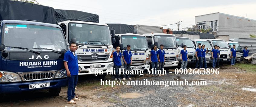 Dịch vụ xe tải chuyển hàng hóa tại tphcm
